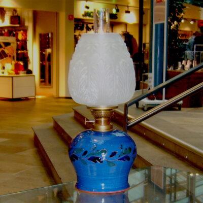 Trønderkeramikk Parafinlampe