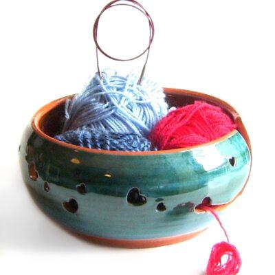 Garnbolle strikkebolle
