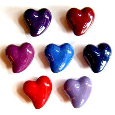 Keramikk-hjerter